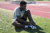 Cathedral City's James Green tells us how he prepares for the long jump