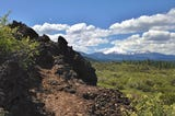 See views of California's volcanic past on Spatter Cones Trail in Lassen National Forest.
