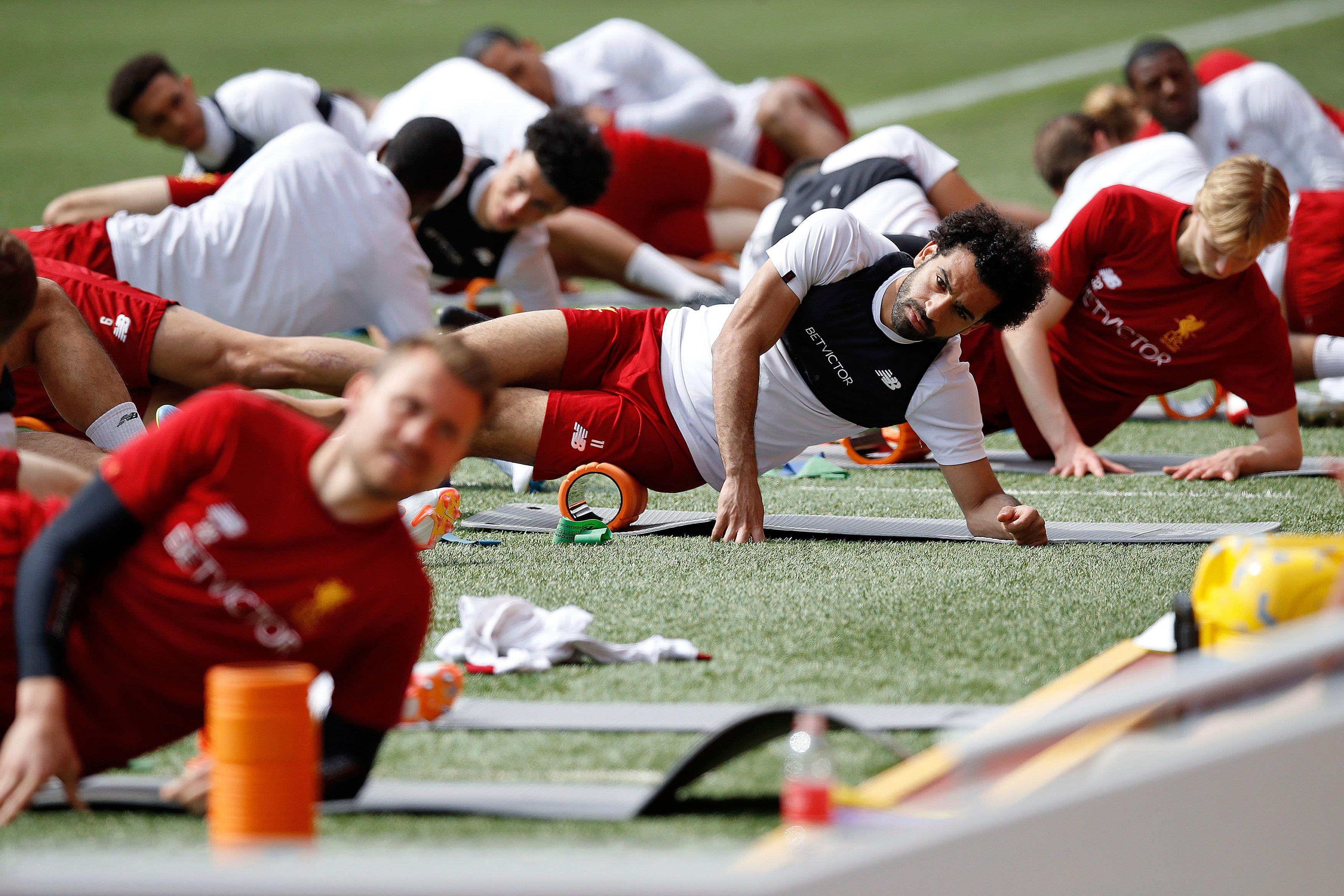 Can trains with Liverpool ahead of Champions League final