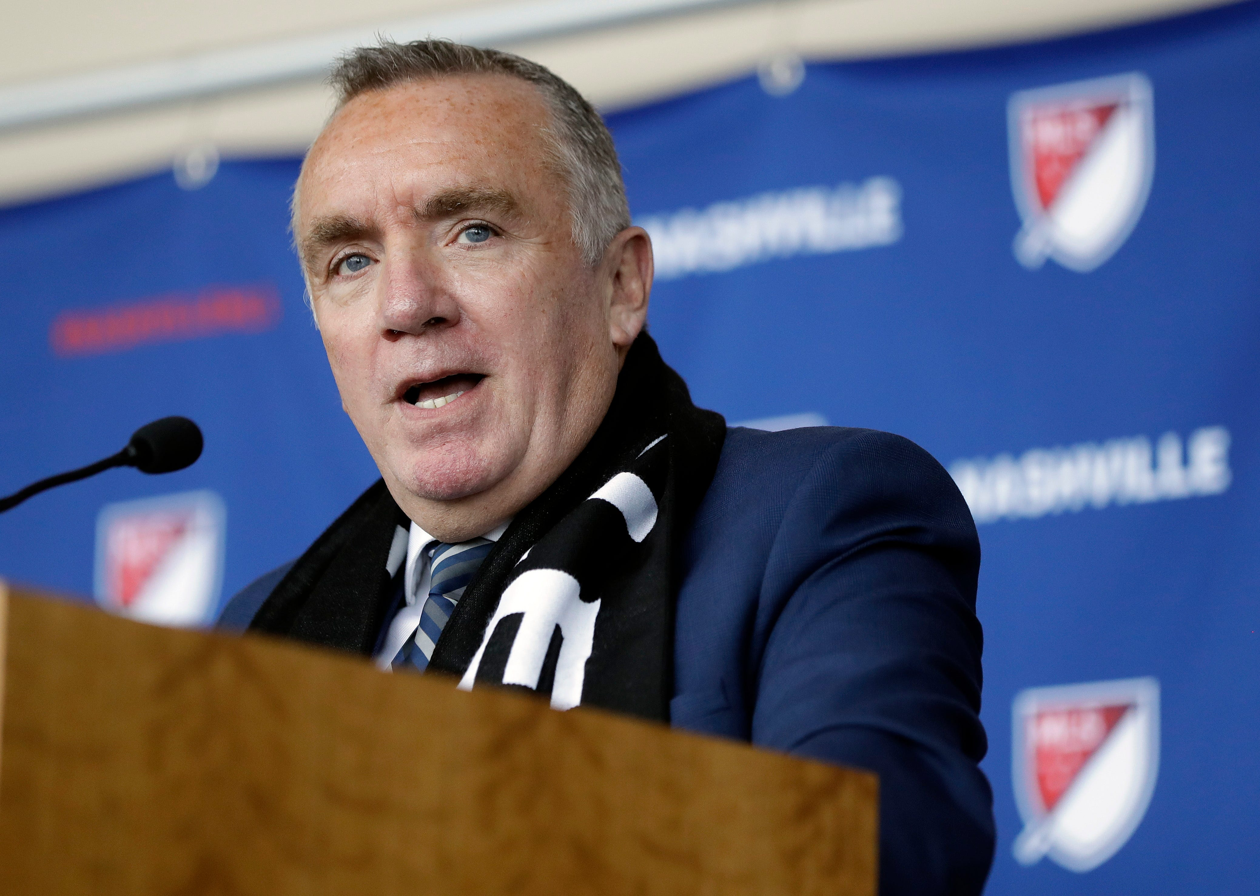 Former Liverpool CEO Ayre hired by MLS' Nashville expansion