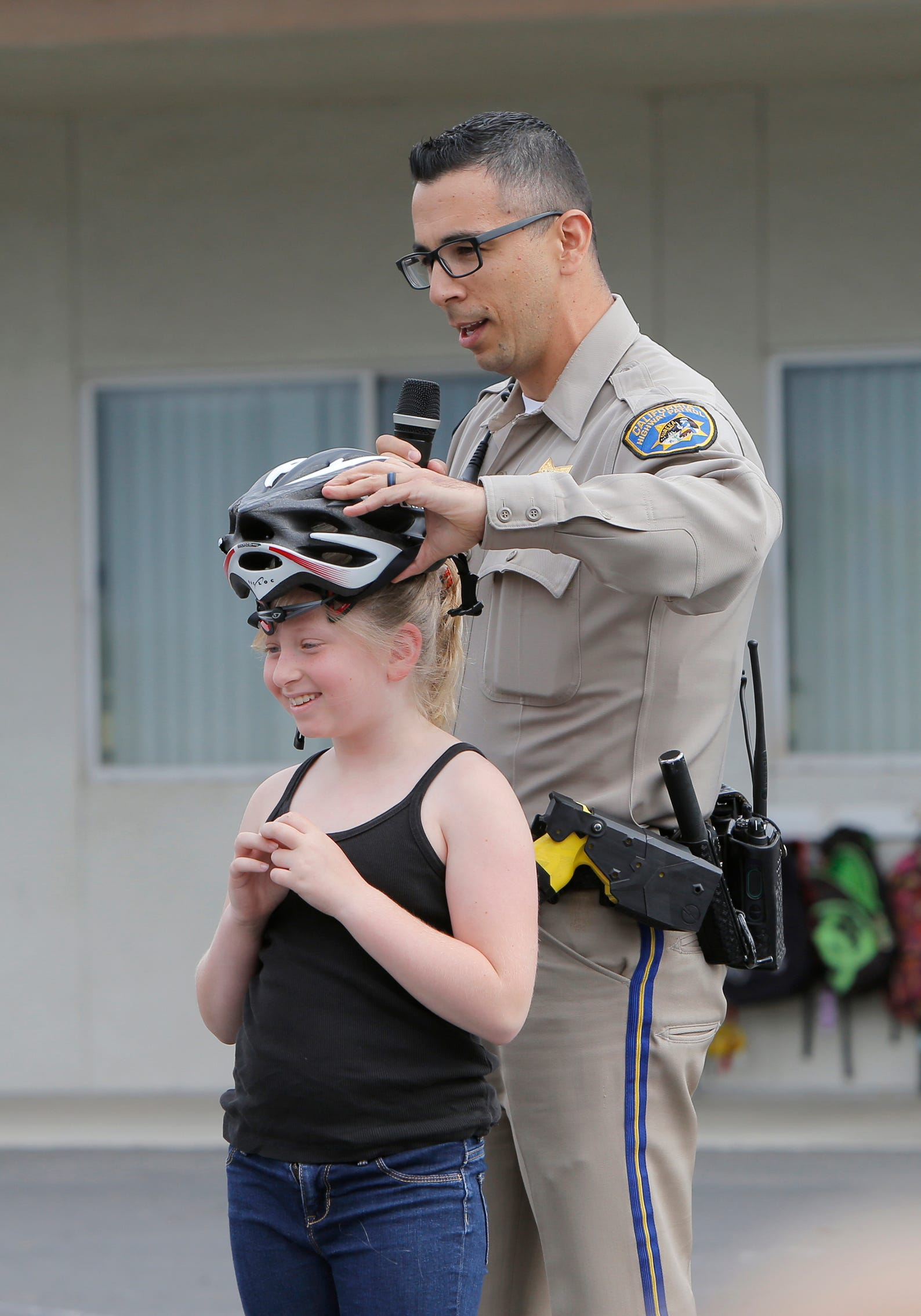 These Simi Valley kids got a lesson in bike safety