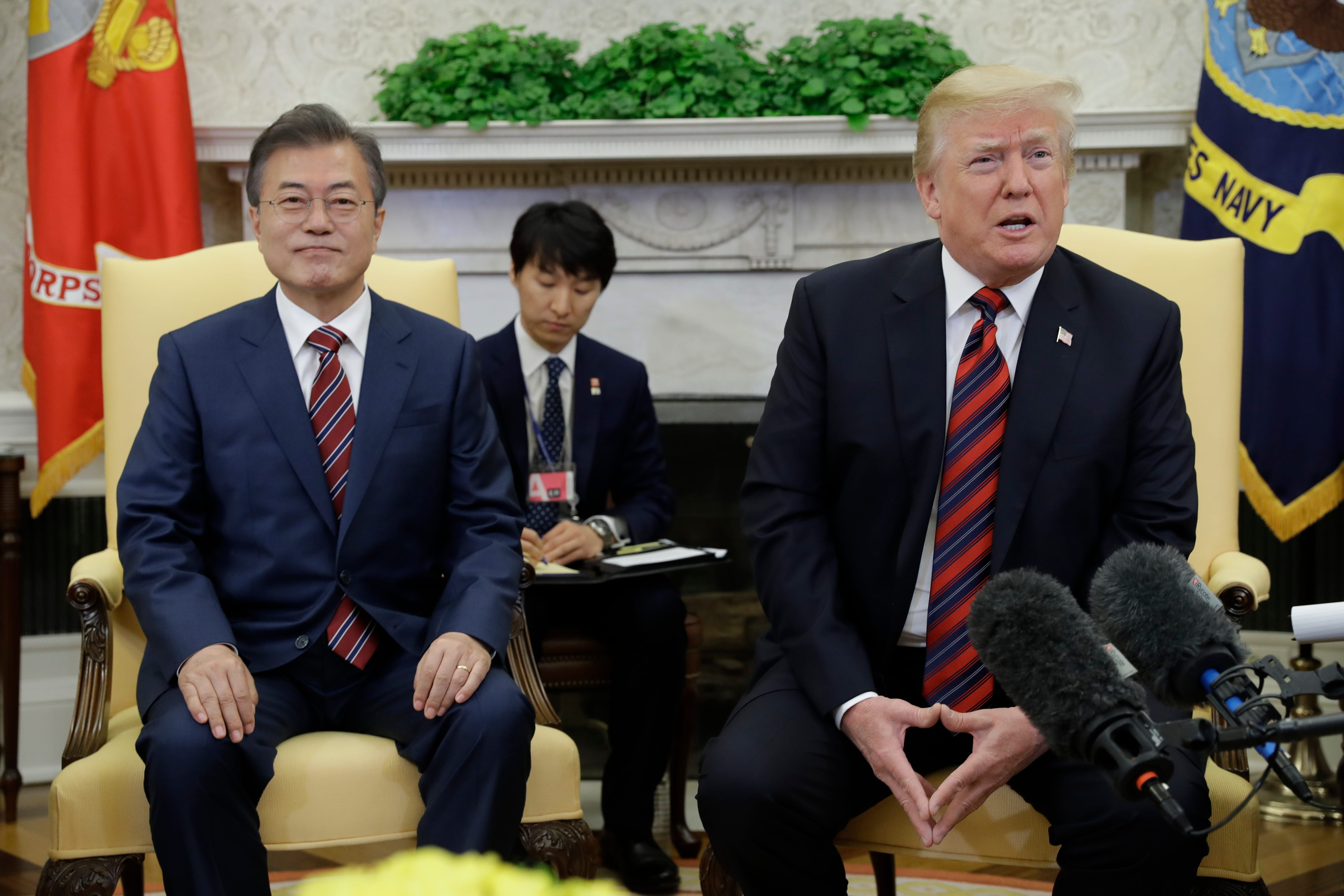 Trump suggests North Korea summit could be delayed while he huddles with South Korea