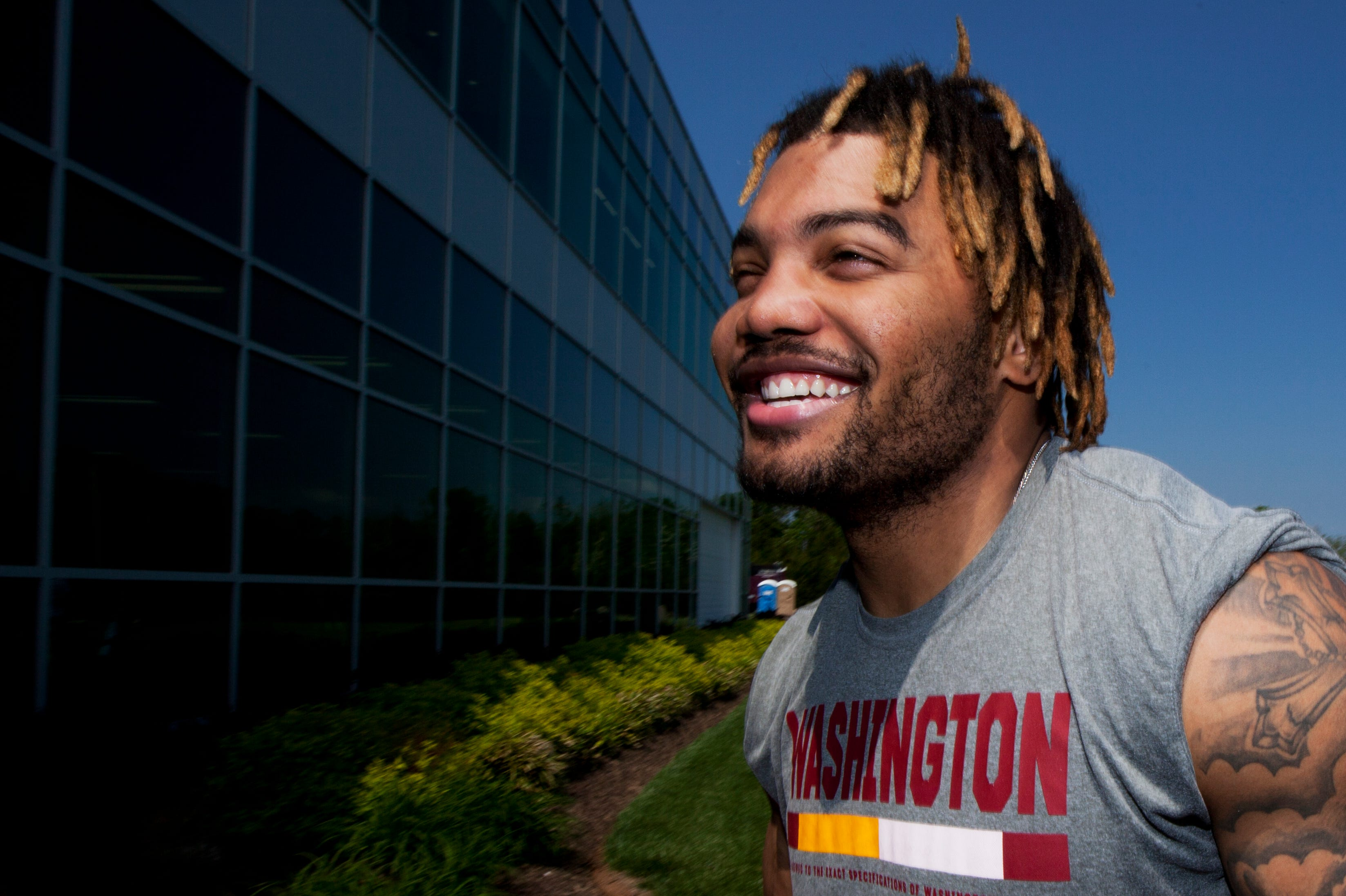 Redskins rookie's kindness had fans asking 'what character issues?'