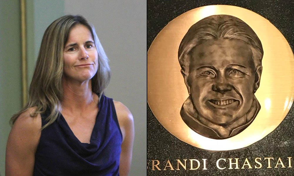 Twitter roasts Brandi Chastain's HOF plaque