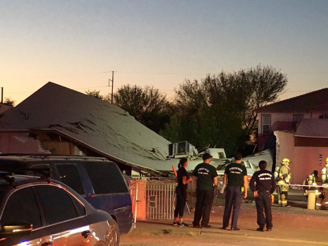 Phoenix church collapses after possible gas explosion | AZ Central