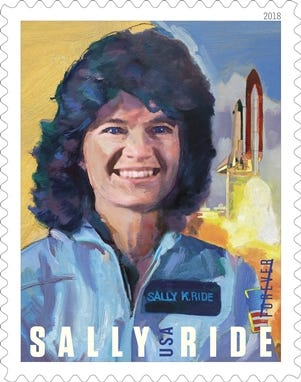 636628607007933164-Sally-Ride-20pct 'Forever Sally': Postal Service honors first American woman in space