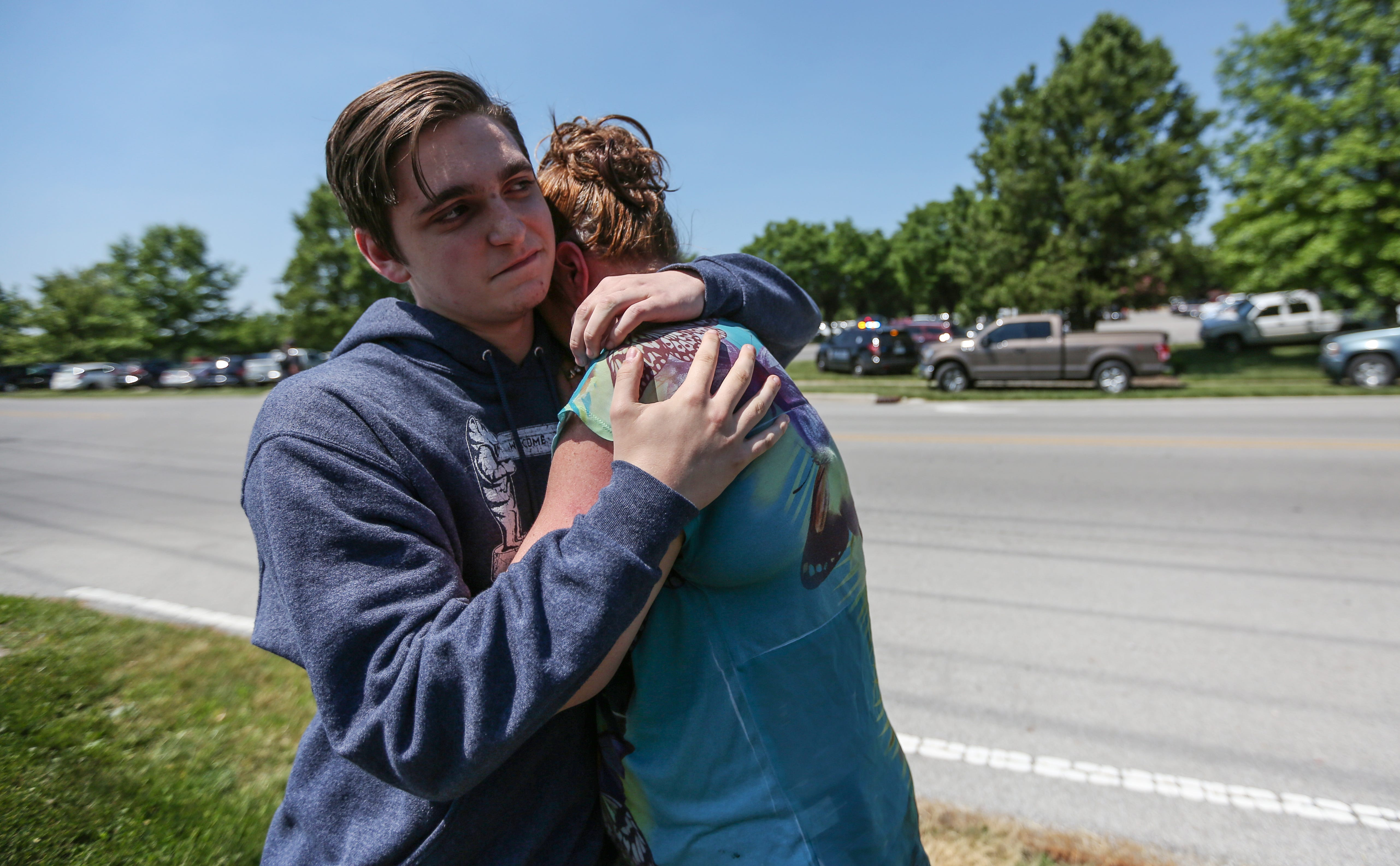 Teacher intervened to stop Noblesville, Indiana, school shooter, students and parents say