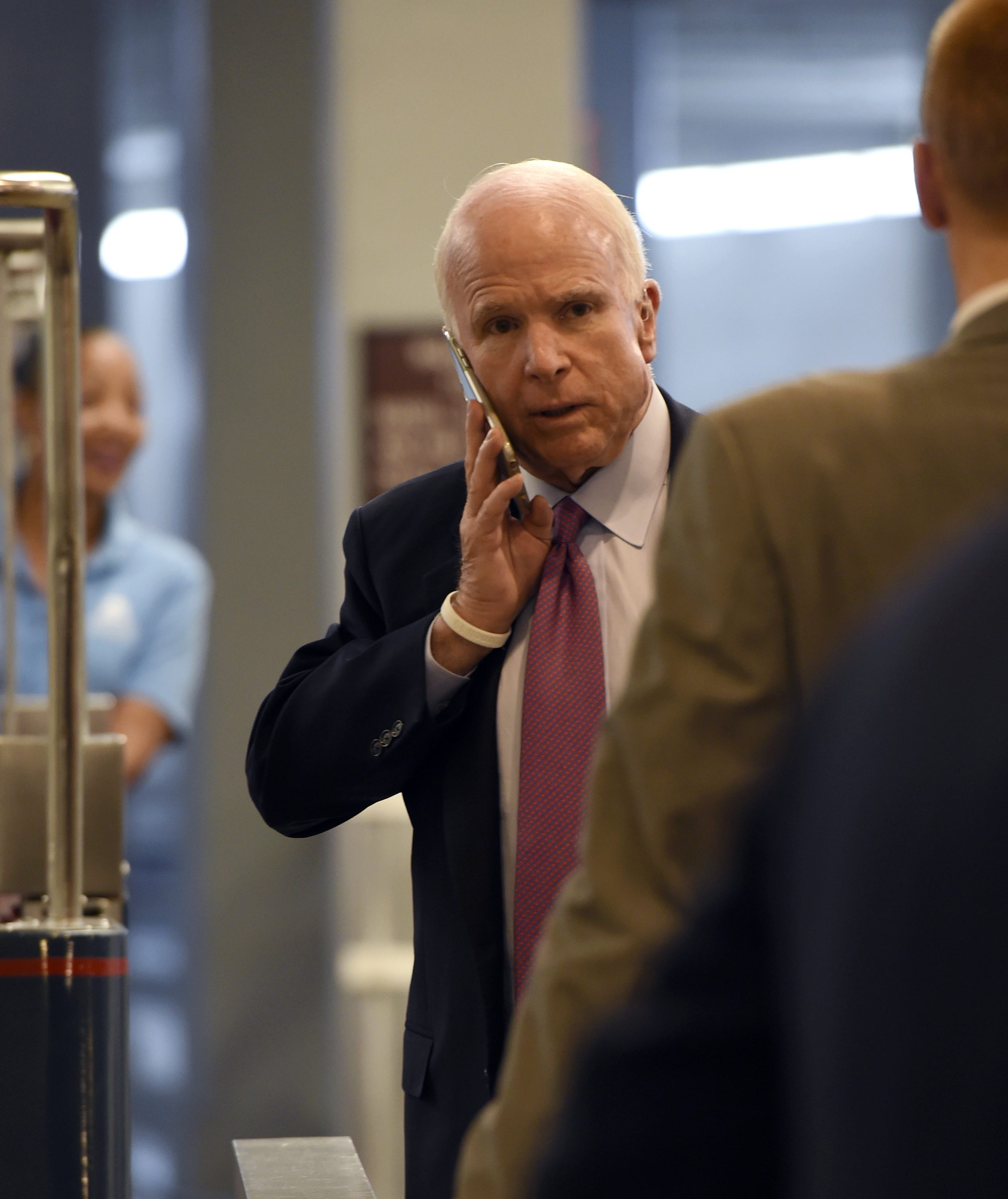 Sen. John McCain dominates Sunday morning shows one last time