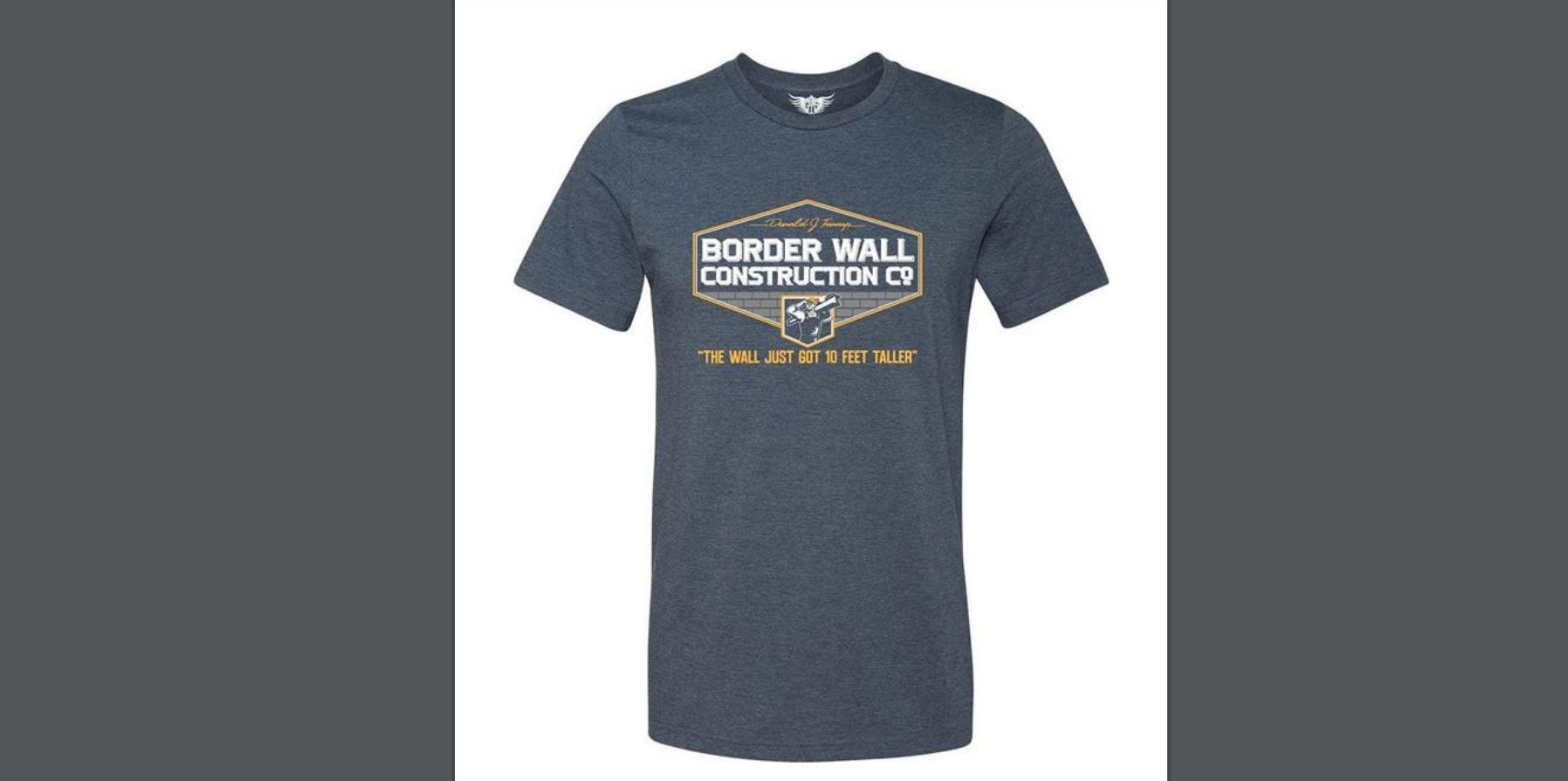 Student sues school over suspension for 'Trump Border Wall Construction Co.' T-shirt