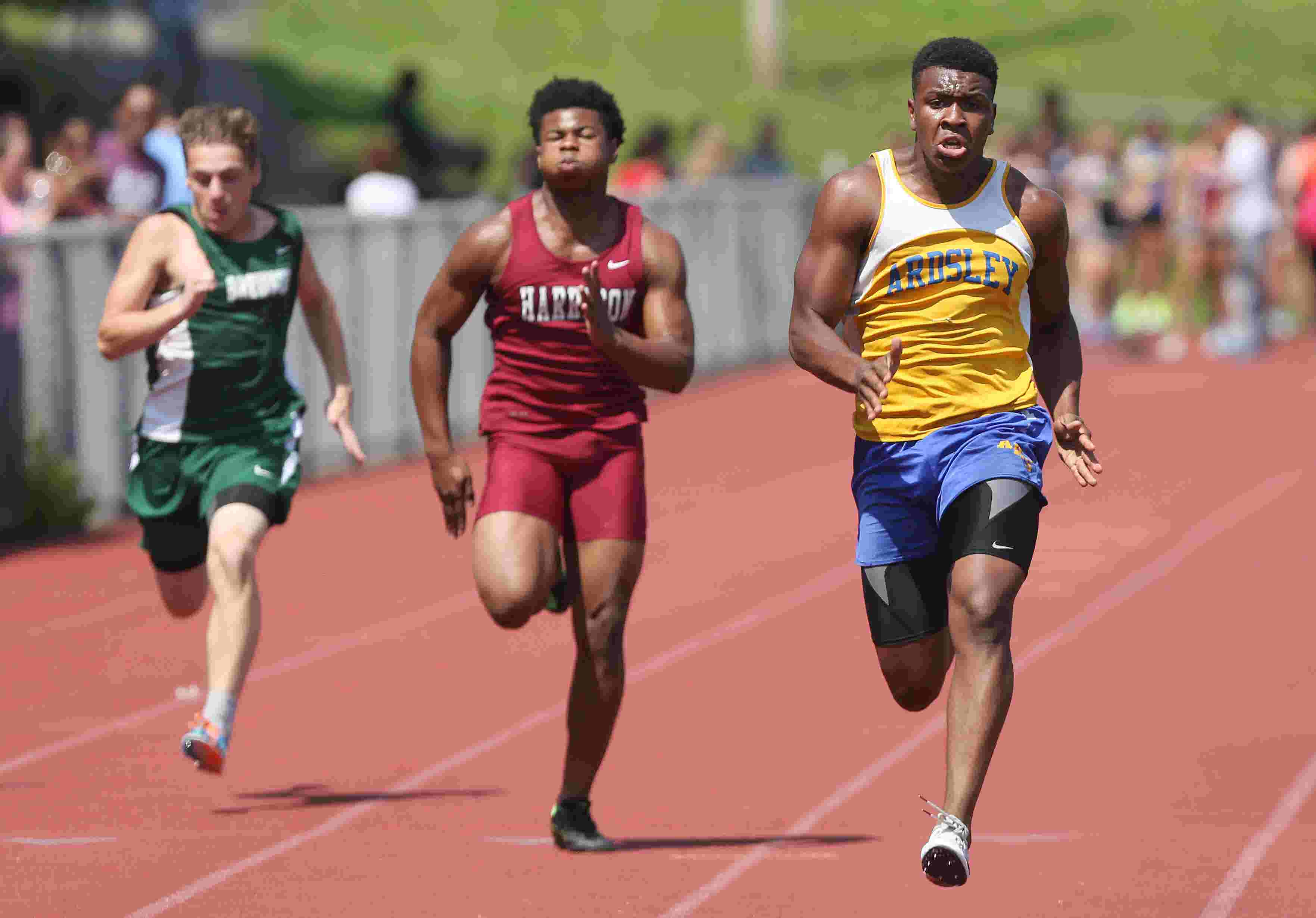 Video: Class B track and field championships at Beacon HS