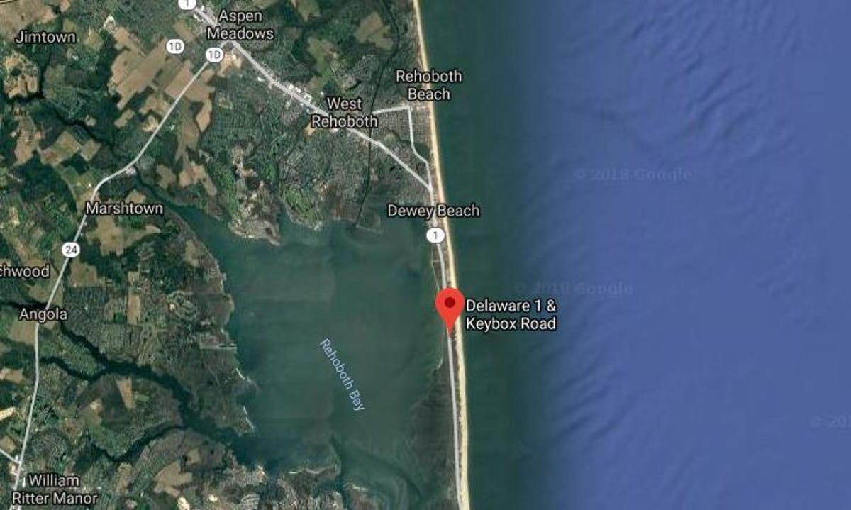 Man killed while walking down Coastal Highway