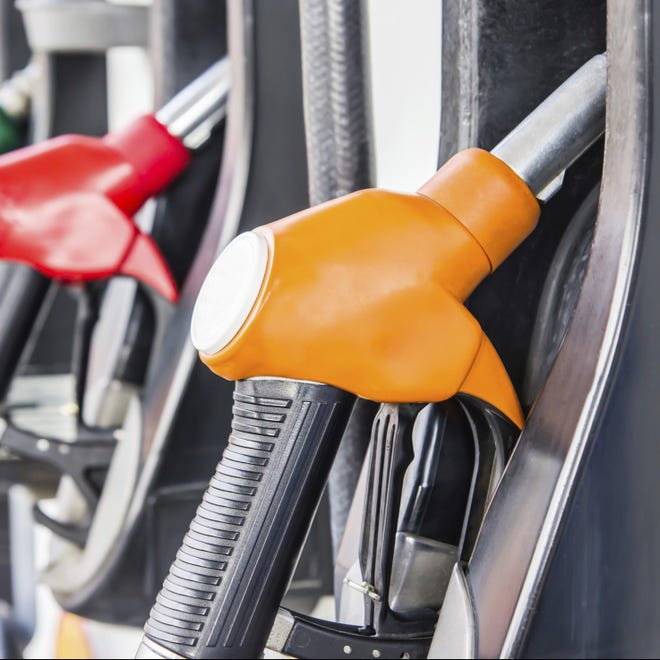 Gas prices hit a four-year Fourth of July high this year.