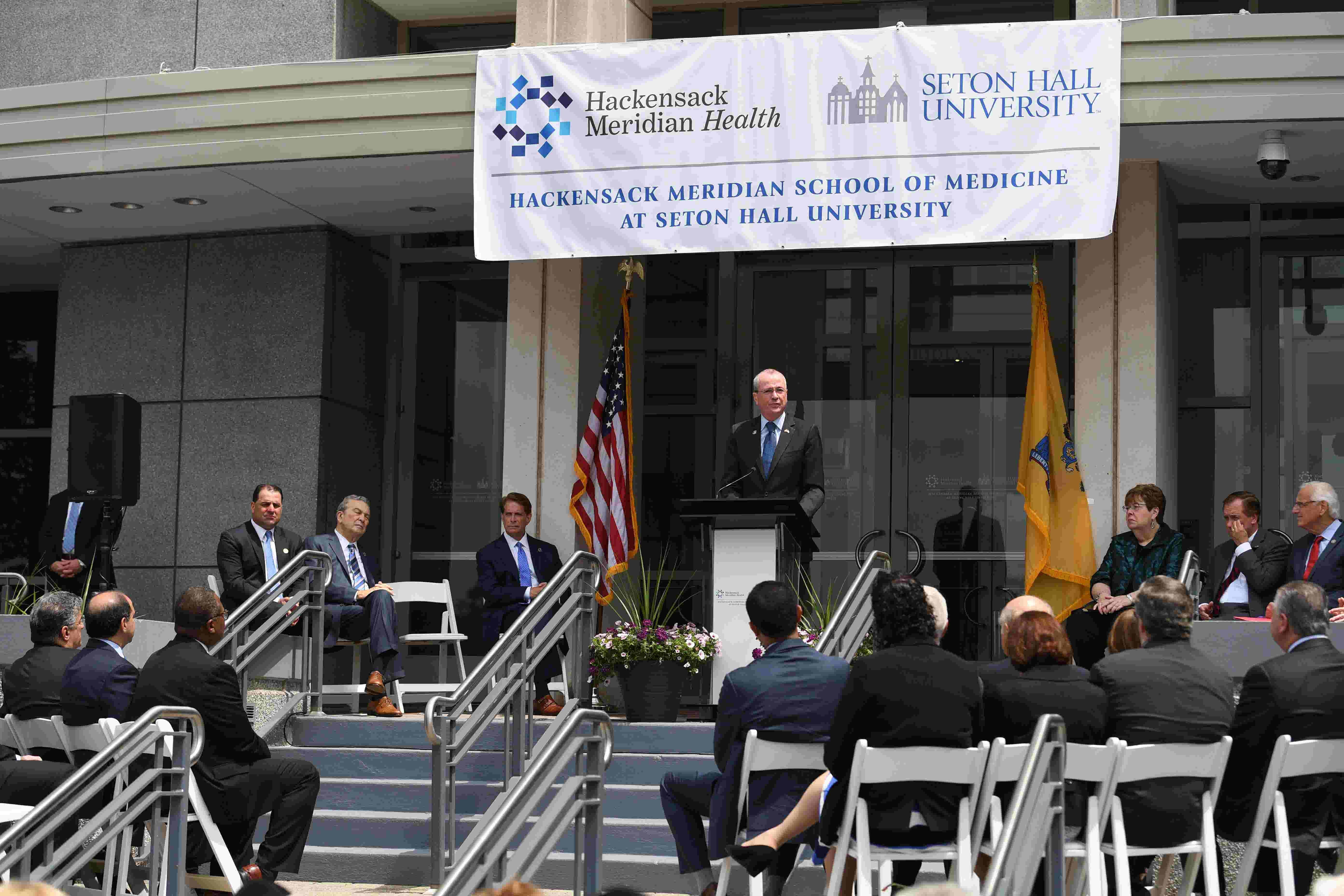 Hackensack Meridian Health Seton Hall Medical School Officially Opens