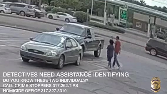 Indianapolis police hope video leads to suspects in shooting death