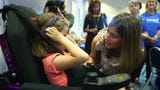 A NJ girl suffering from a rare disease receives Make-A-Wish NJ's ten-thousandth wish