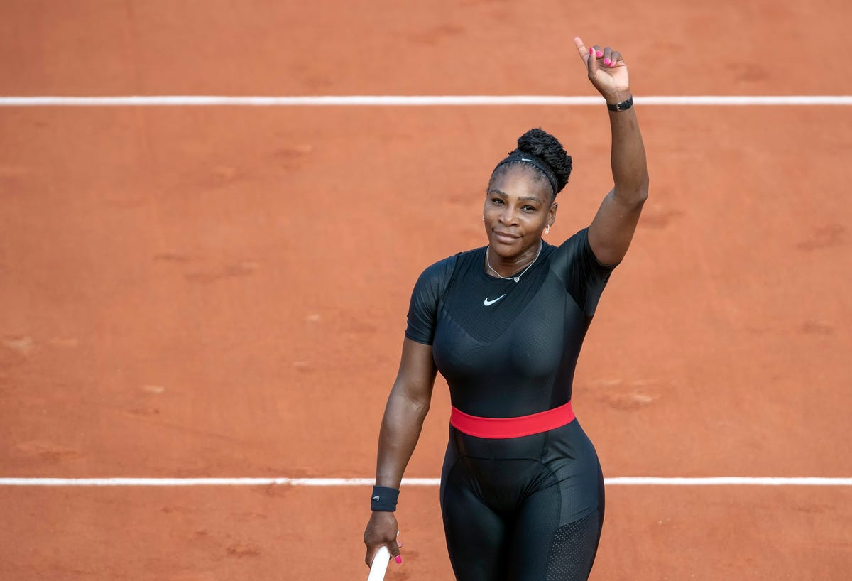 Serena Williams, as a new mom, shows us she's fierce, candid