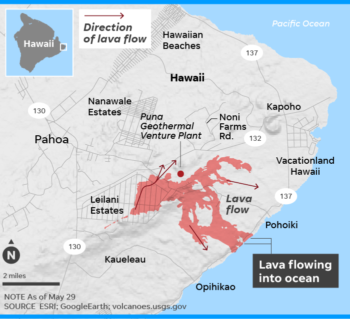 Hawaii volcano lava forces new evacuations on Big Island