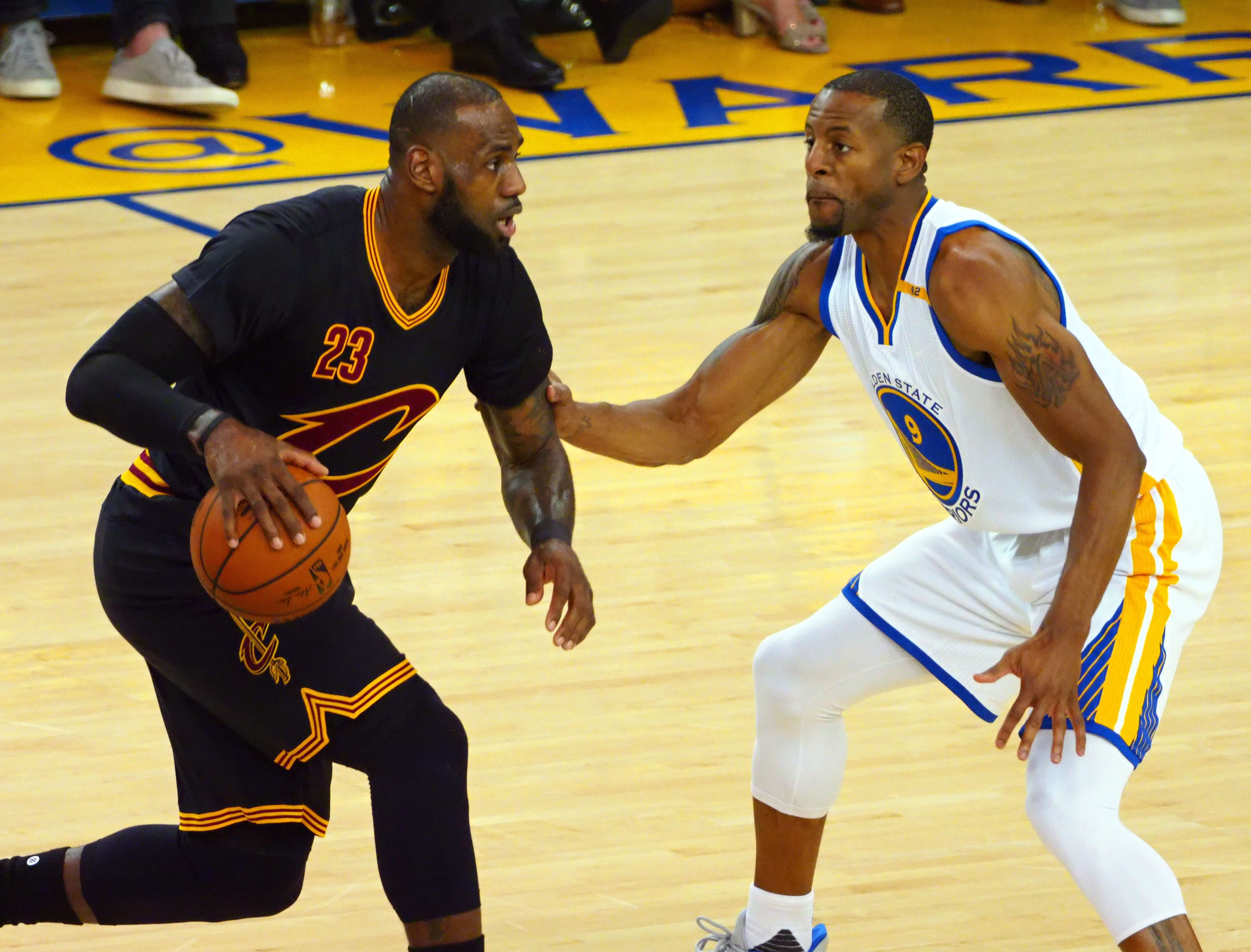b6a536b7f43 NBA Finals  Why did LeBron James wear shorts with his suit to Game 1
