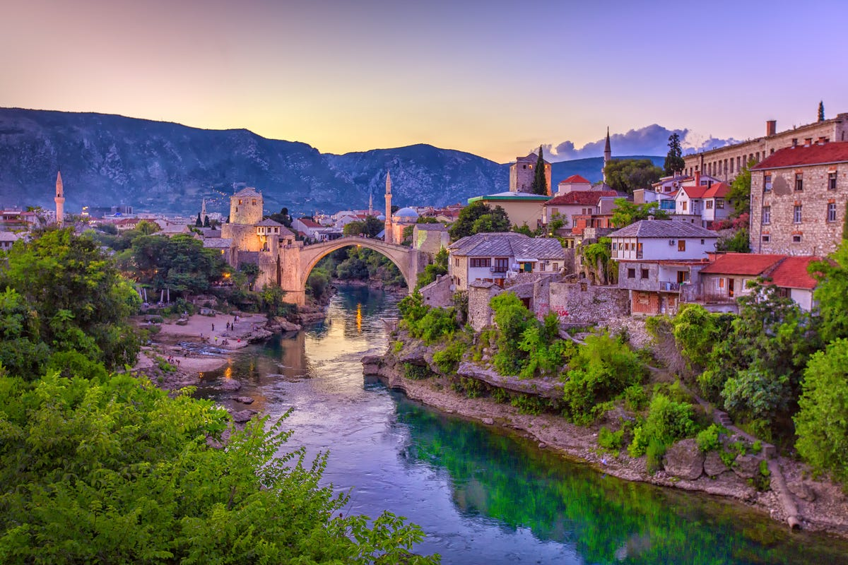 The 10 least-visited European countries