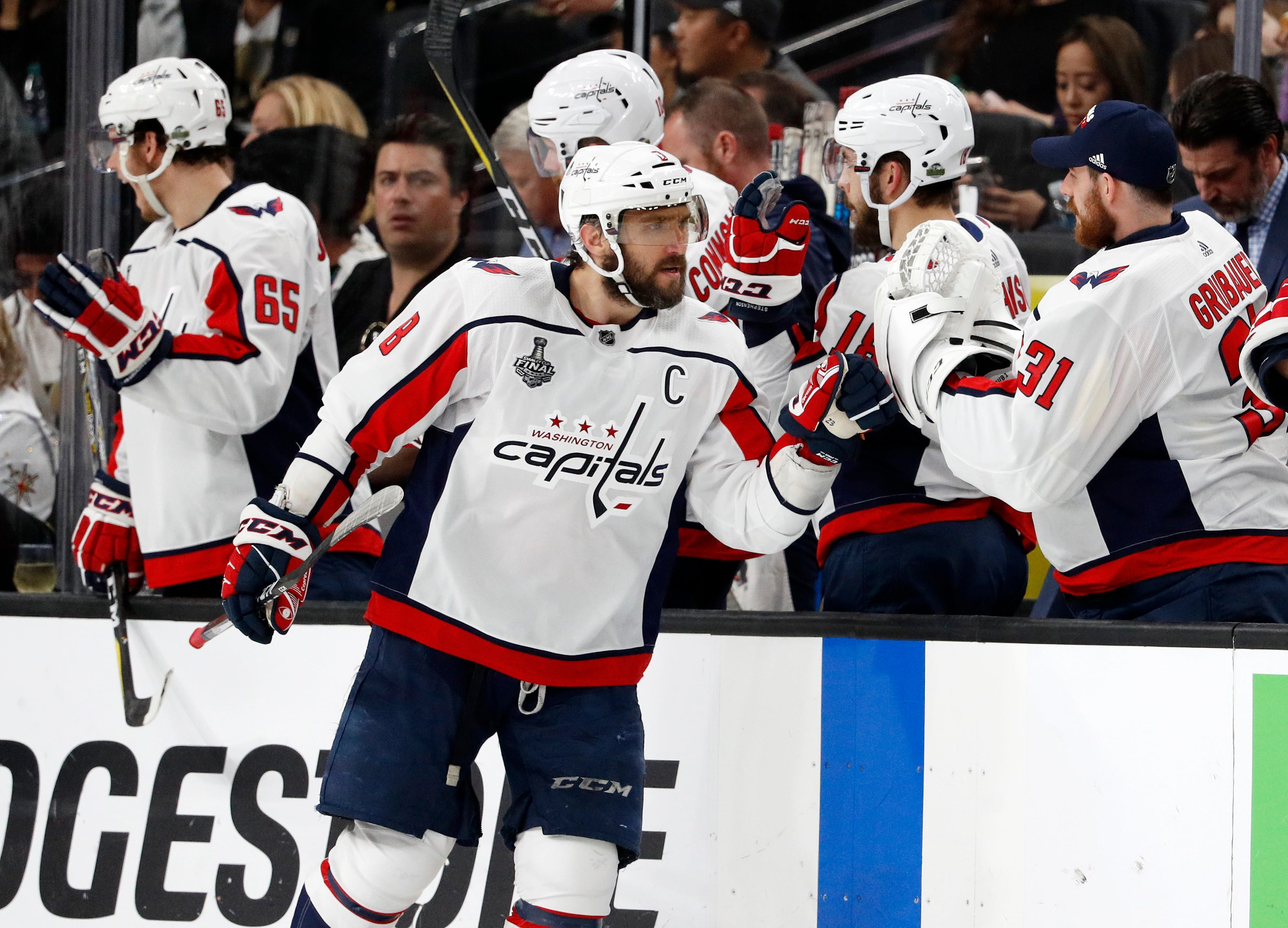 Alex Ovechkin shows the way as Capitals beat Golden Knights to tie Stanley Cup Final