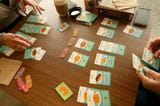 Battlegrounds offers food, drinks and plenty of space to play board games.