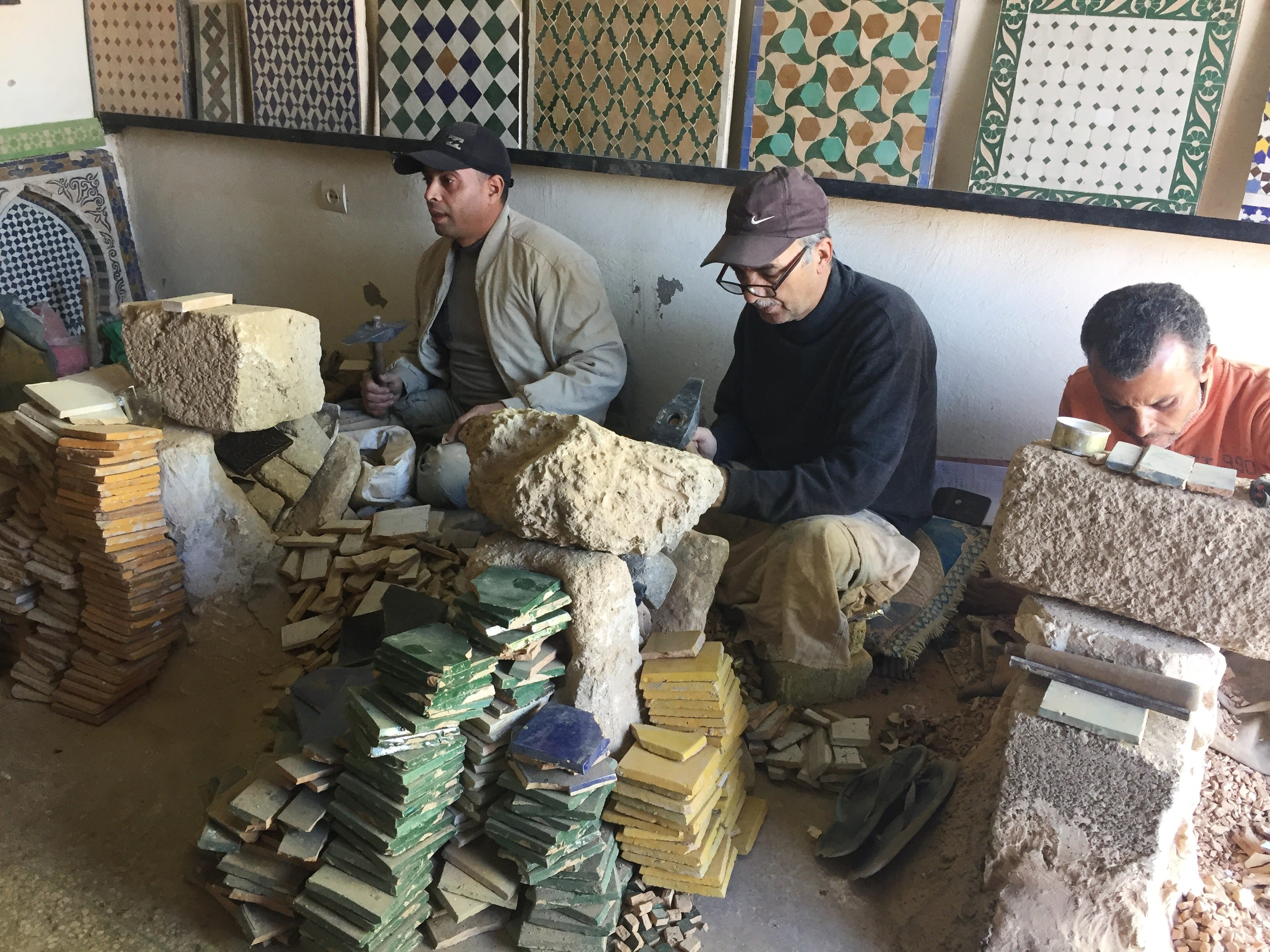 Crafting mosaic tile is an endangered tradition. Here are the folks keeping it alive