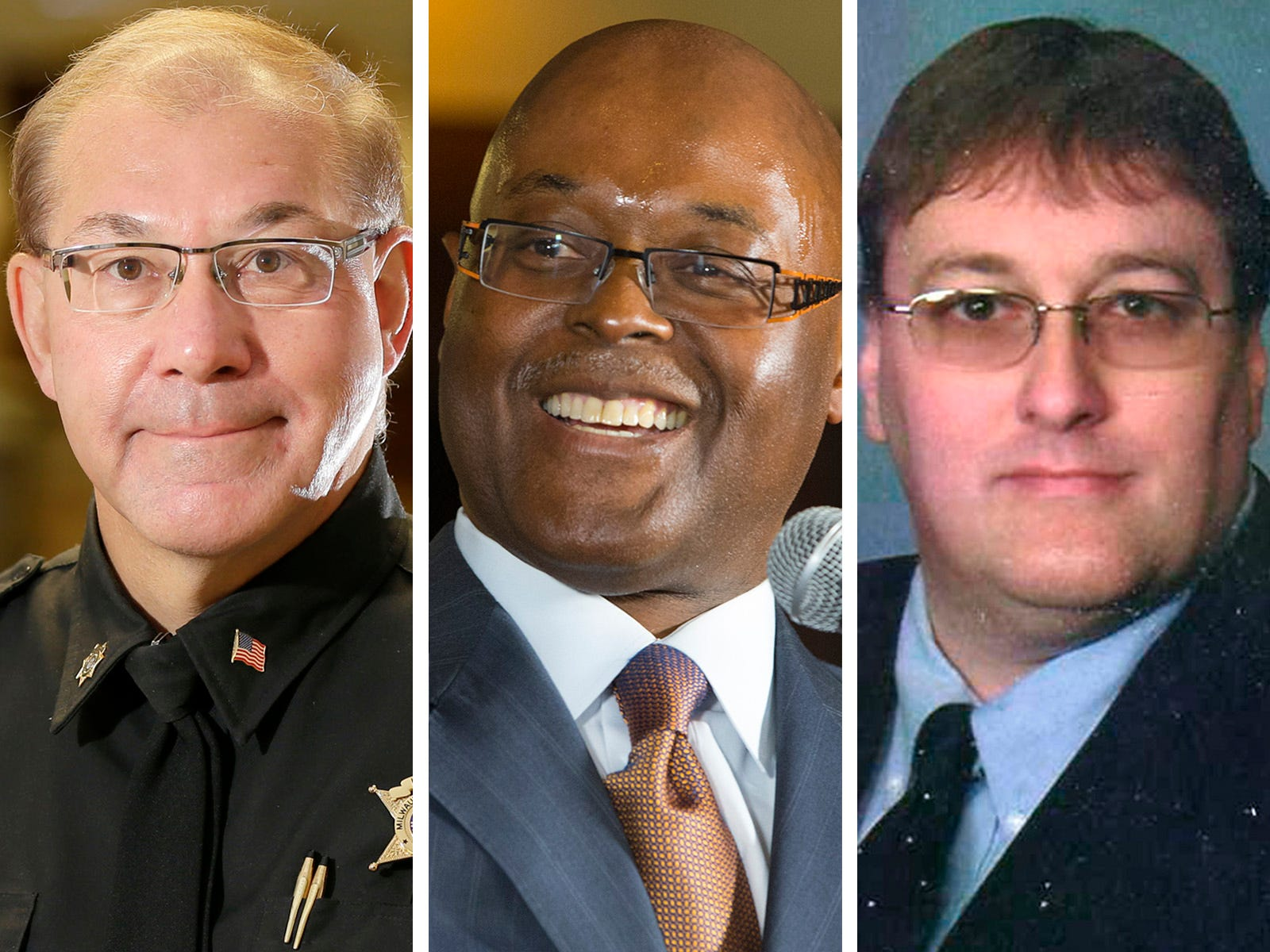 Earnell Lucas builds cash advantage over Richard Schmidt and Robert Ostrowski in Milwaukee County sheriff's race | Milwaukee Journal Sentinel