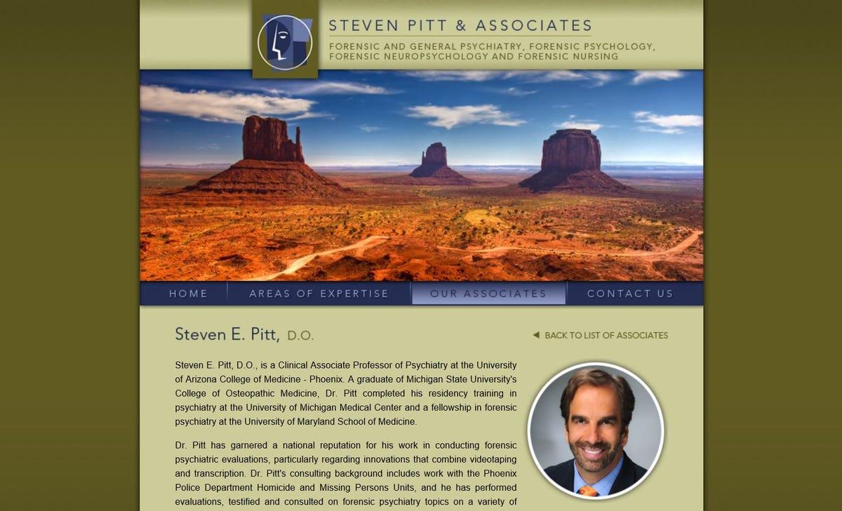 Steven Pitt, forensic psychiatrist in Baseline Killer case, killed