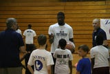 Former Northeast and current Indiana Pacers forward Alex Poythress returned home to hold his second annual youth basketball camp.