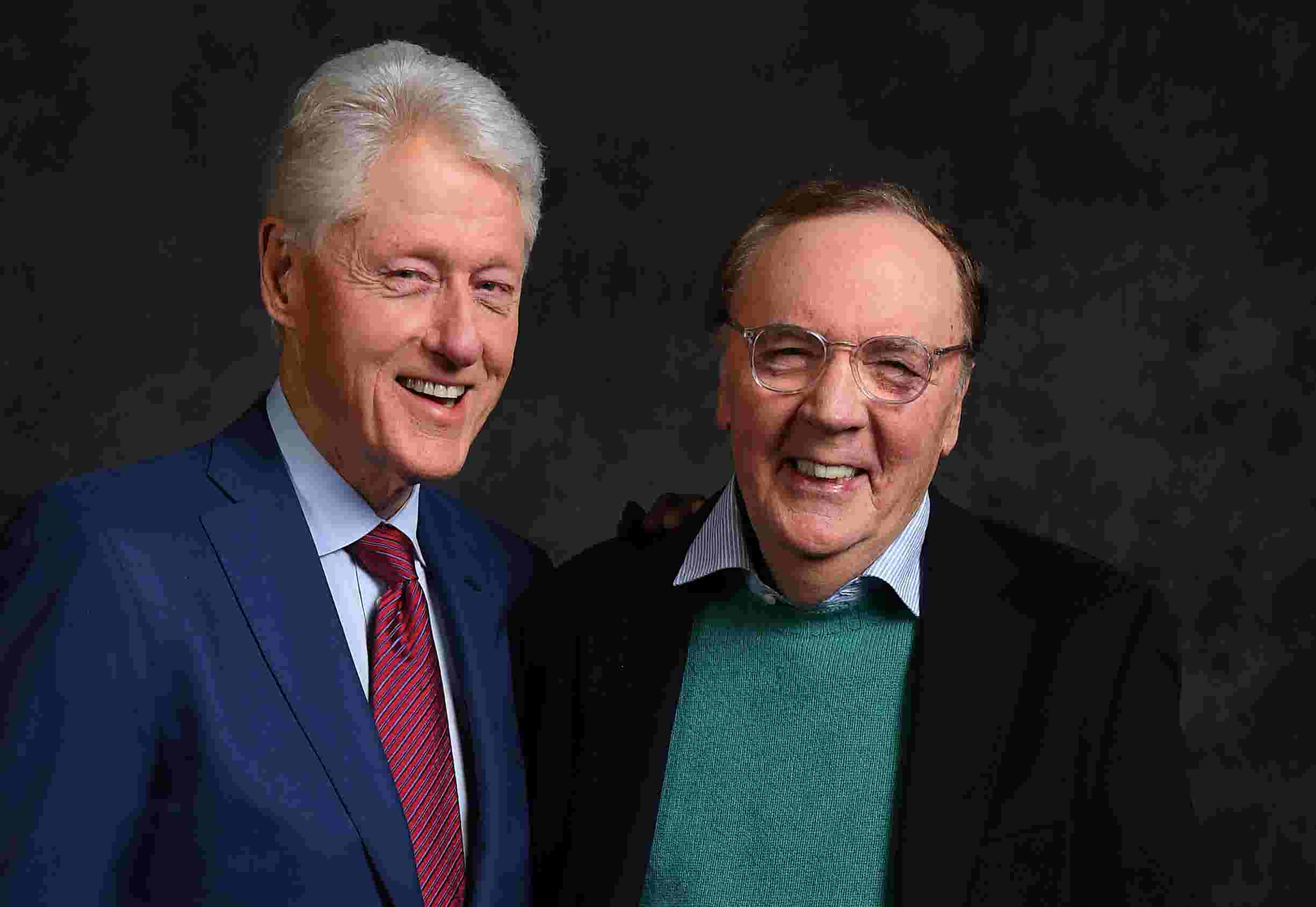 bill clinton with co author james patterson talks cyber security