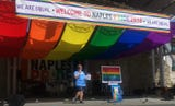 Here's a peek into the Naples Pride second annual event in Naples, Florida on June 2, 2018. Thousands showed up to support the LGBTQ community and enjoy the vendors, music and sunshine.