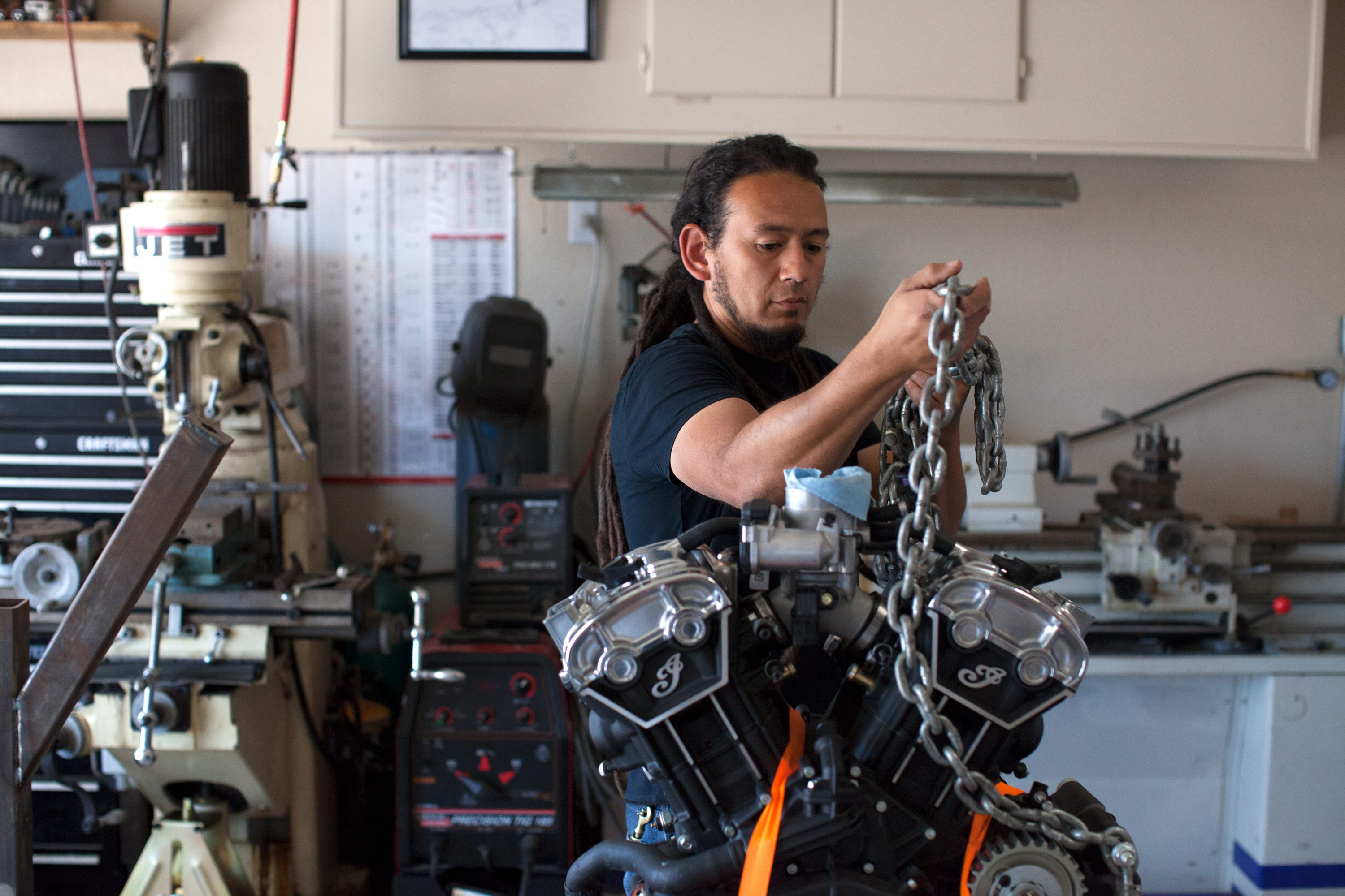 Voting for Indian Motorcycle build-off competition in progress | Las Cruces Sun