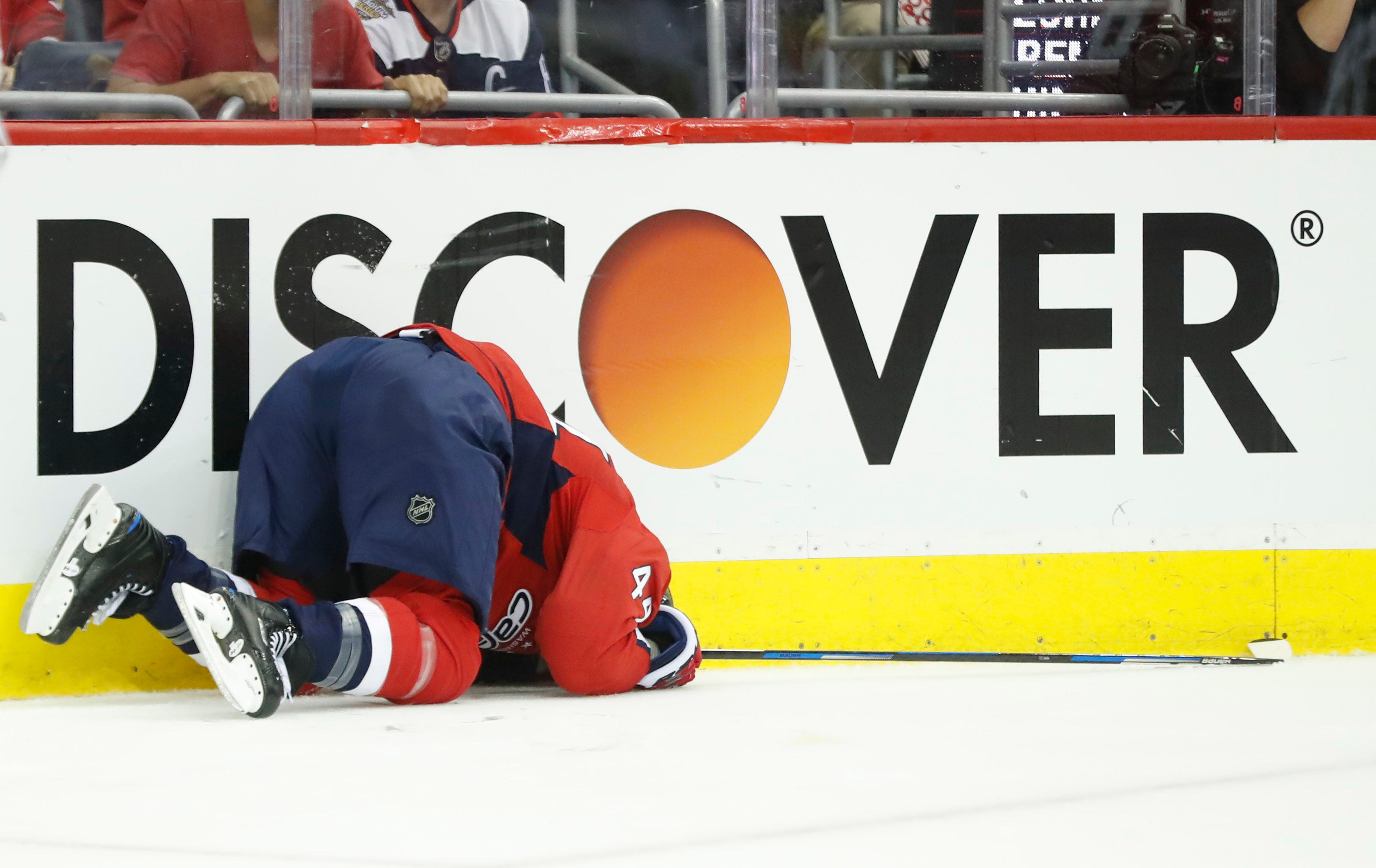 Brooks Orpik: 'Just got the wind knocked out of me' on hit by James Neal