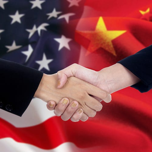 The round of trade talks between the U.S. and China ended Sunday with no agreement and a Chinese threat that no agreement will be possible if the U.S. imposes any tariffs on Chinese imports.