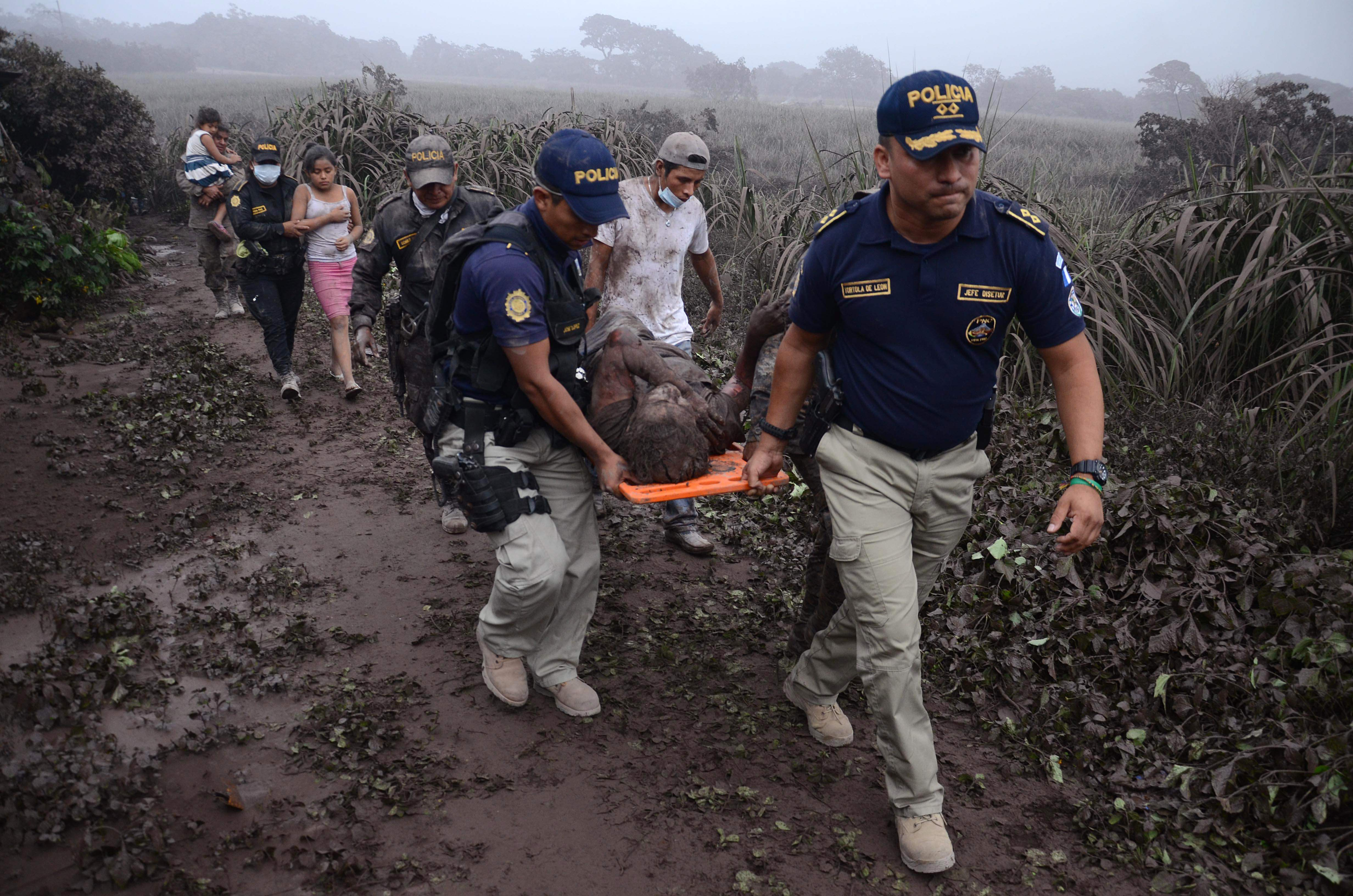 At least 25 dead as volcano erupts in Guatemala