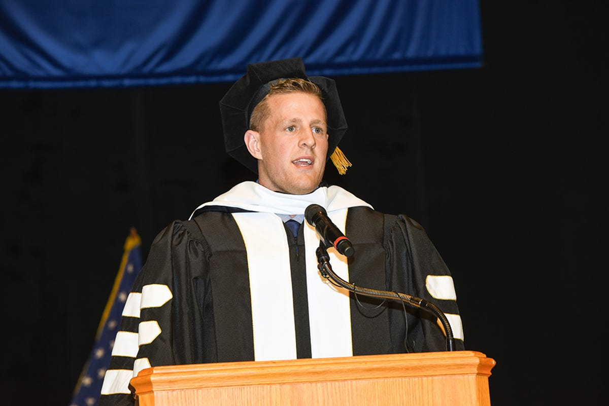 f770443b29b0d Texans star JJ Watt gets doctorate degree for hurricane relief efforts