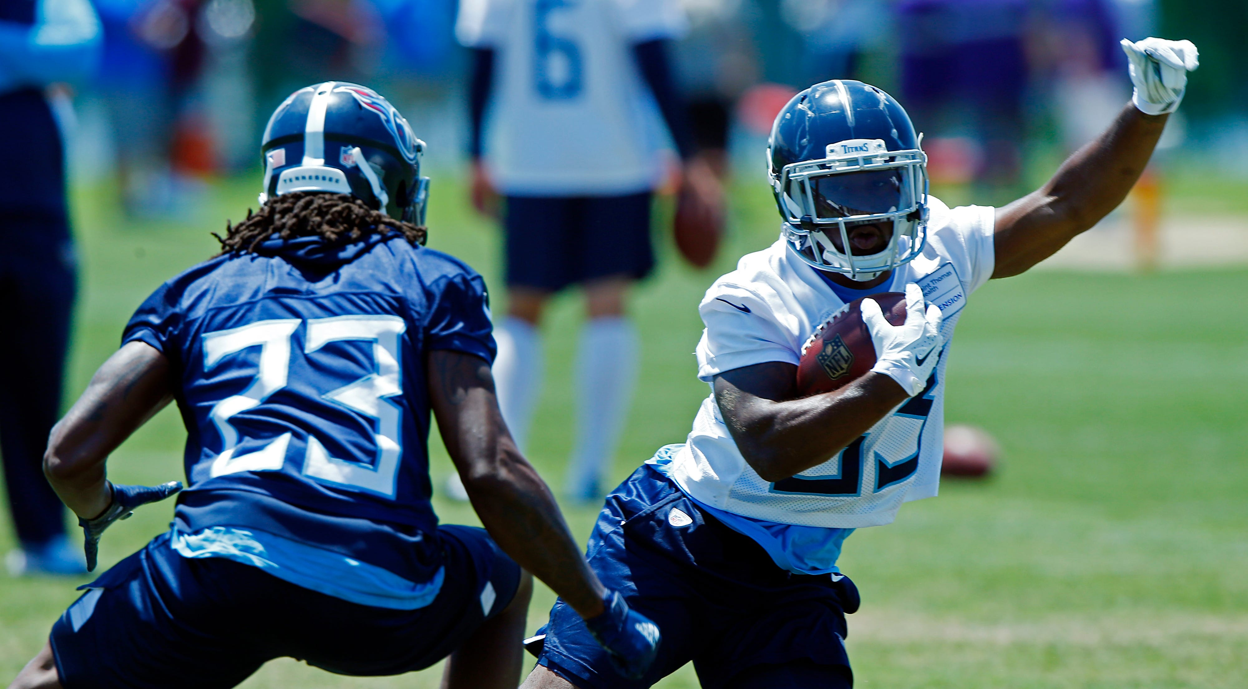 Titans: Derrick Henry, Dion Lewis both starters; offense 'all starts with our run game'