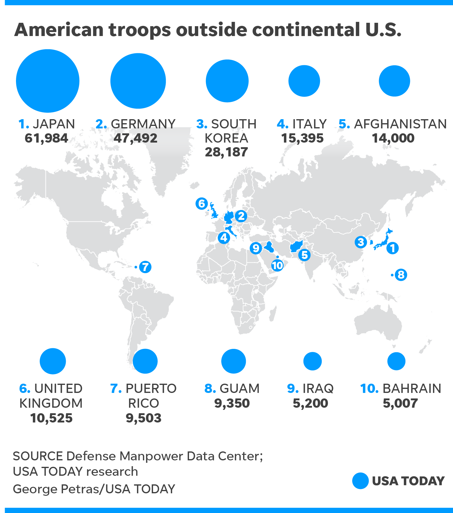 Us Bases About 28000 Troops In South Korea Summit To Be June 12 - Map-of-us-army-bases-in-germany