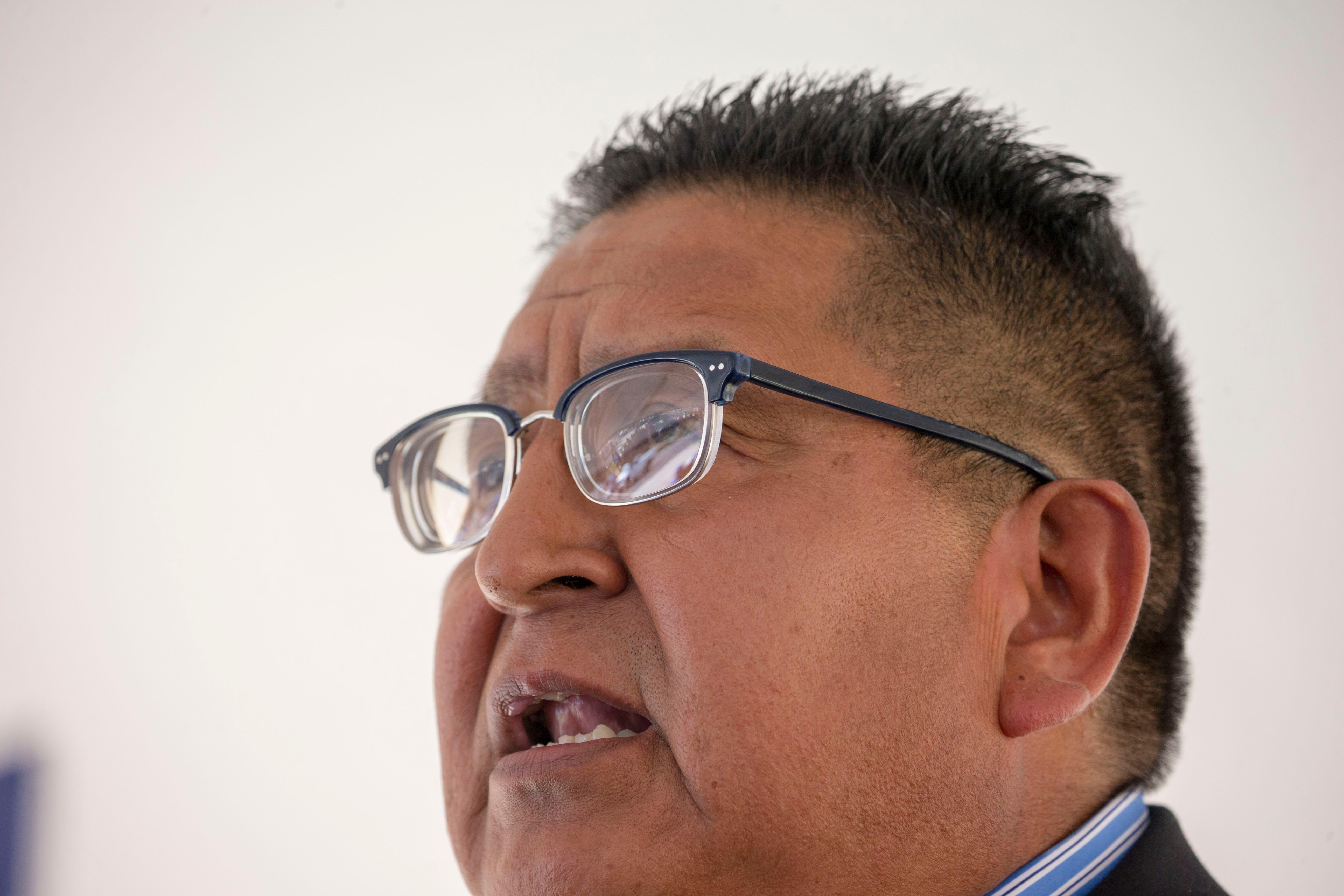 Clark Tenakhongva, vice president of the Hopi Tribe