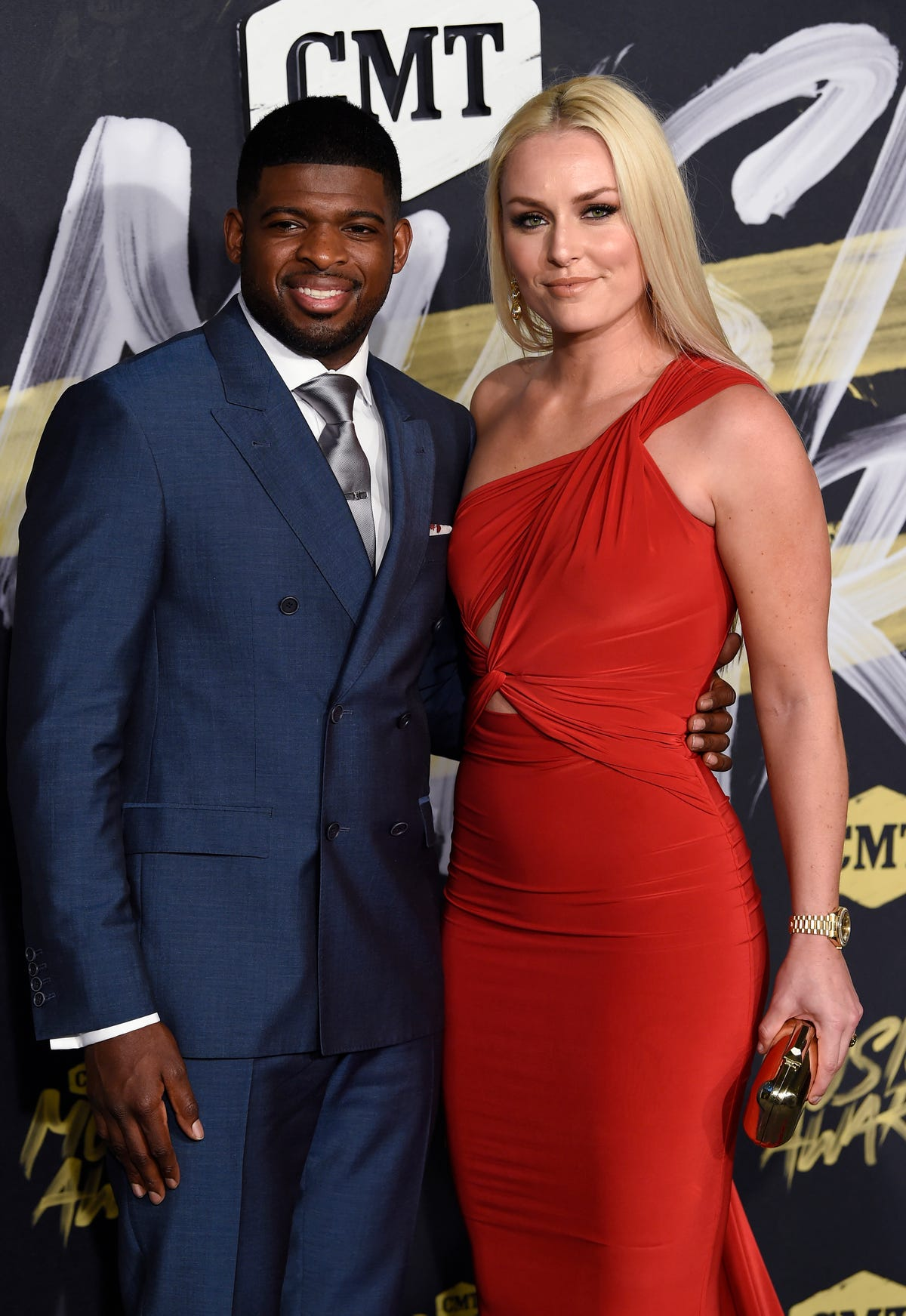 Predators News Lindsey Vonn Watches P K Subban Face Brother Malcolm