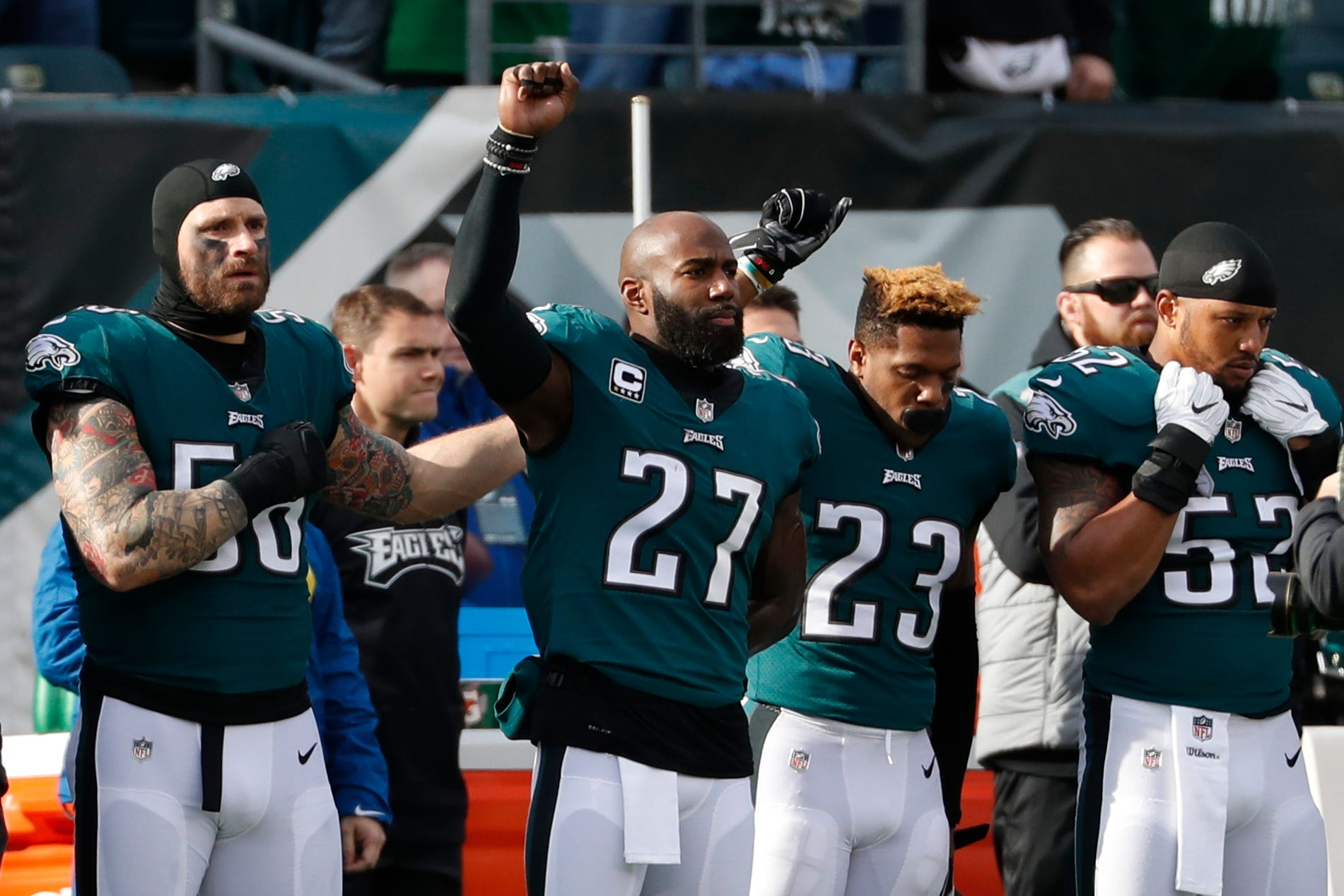Listen up, America: Malcolm Jenkins and NFL players won't let their message be drowned out