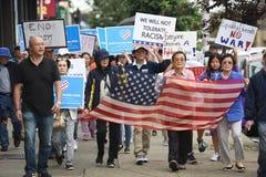 Korean American rally in Palisades Park