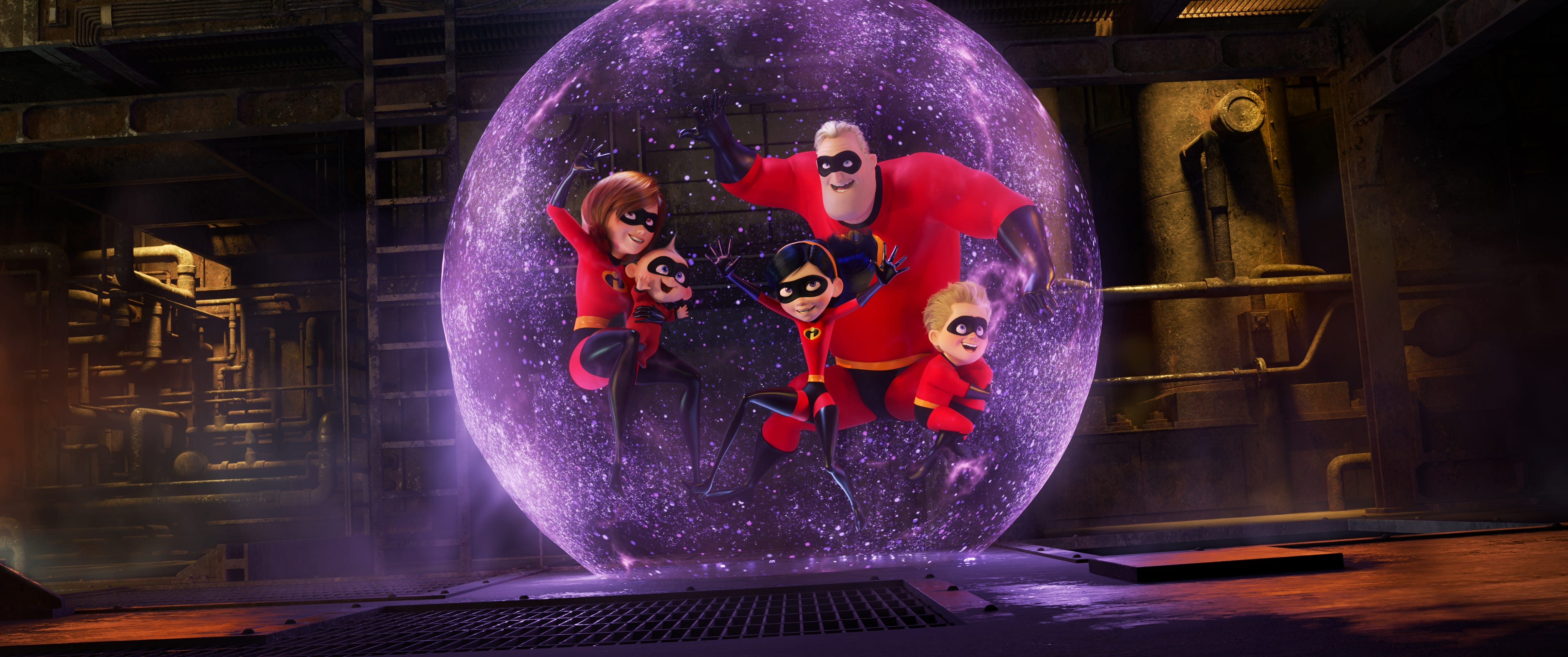 'Incredibles 2' features the return of Pixar's superhero family