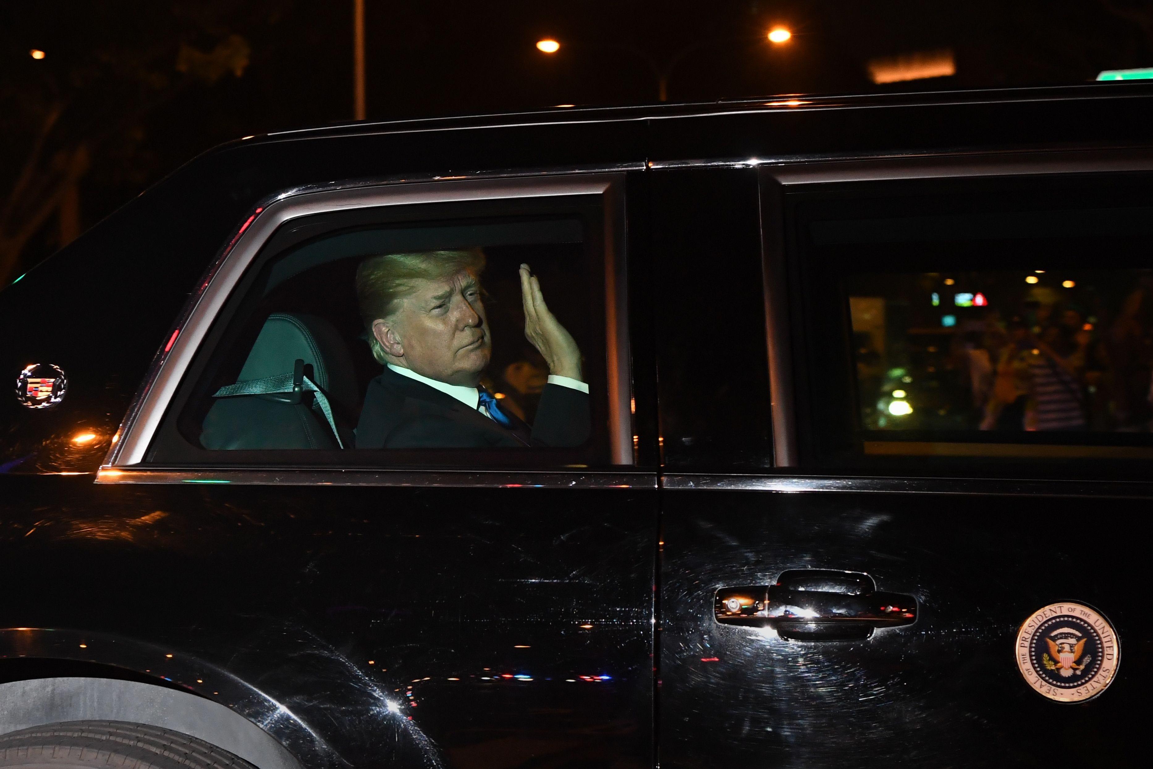 Donald Trump, Kim Jong Un arrive in Singapore for nuclear summit
