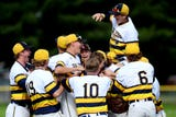 See the final out and hear remarks from coach Pat O'Keefe on his team and Elliott Patten following Grand Ledge's 5-1 win over Portage Northern.