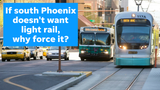 Extending light rail down Central Avenue is kind of like cough syrup for some south Phoenix residents, columnist Joanna Allhands says.