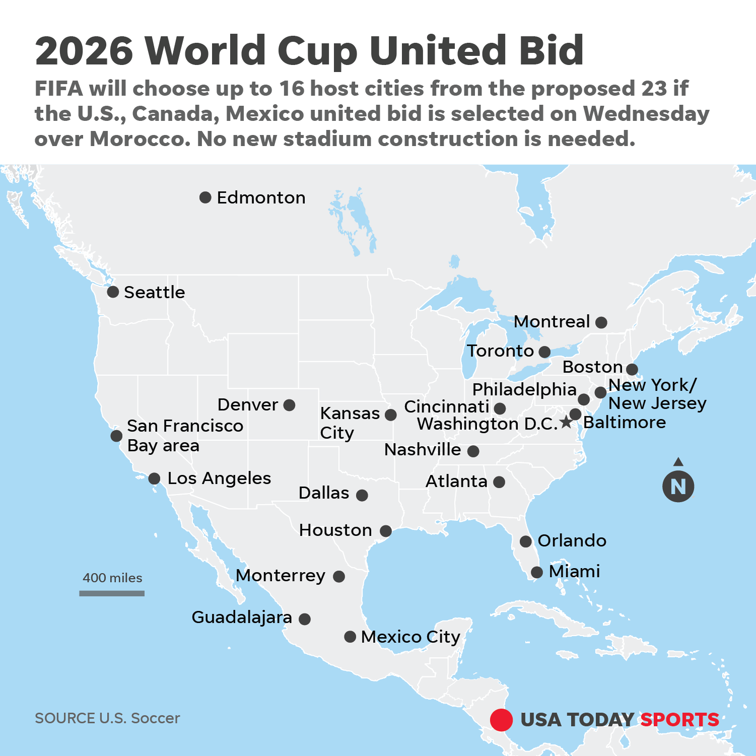 2026 World Cup vote: Does United Bid or Morocco hold the ...