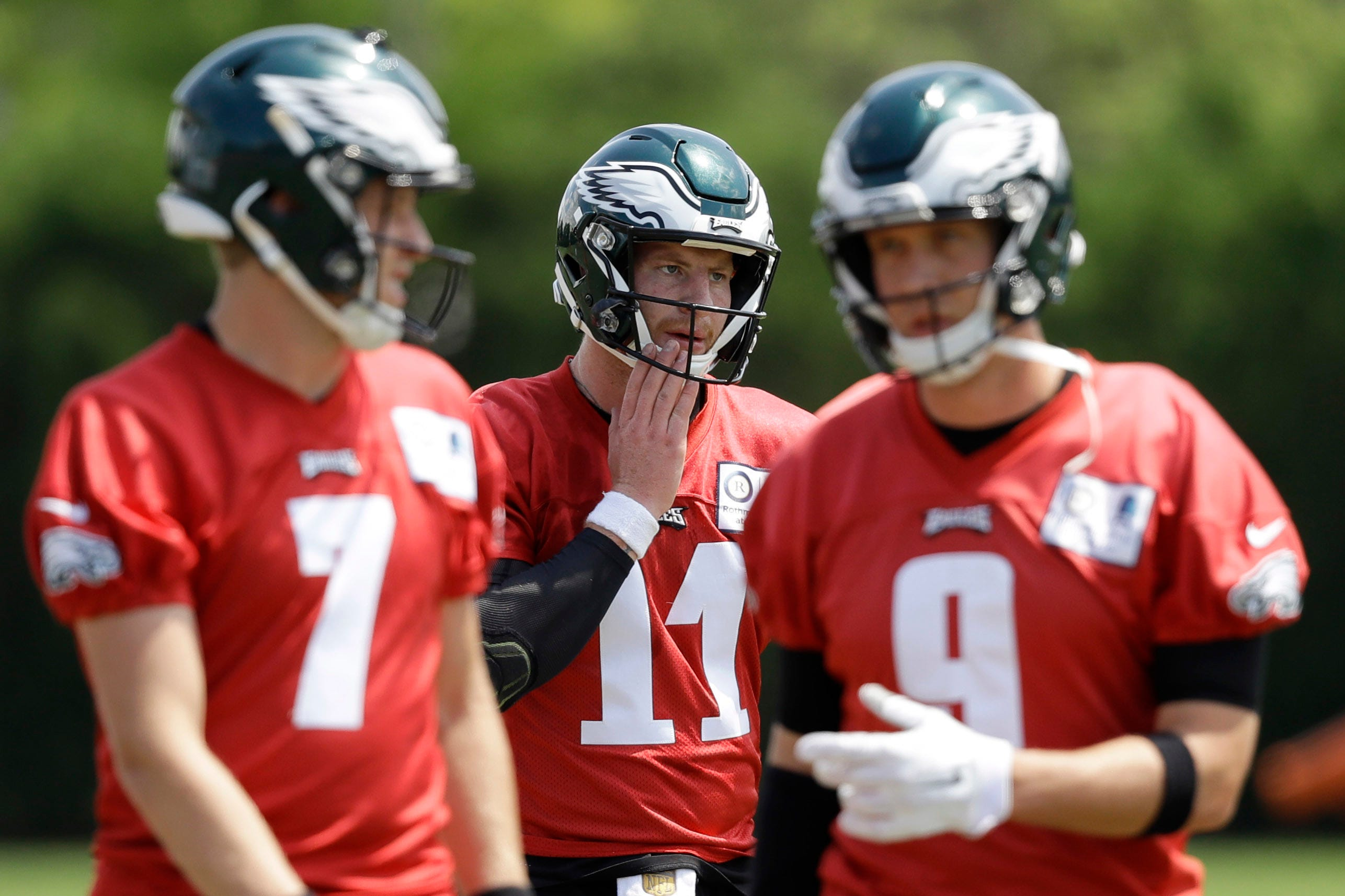 Doug Pederson: Nick Foles would start at QB over Carson Wentz if Eagles' season started now