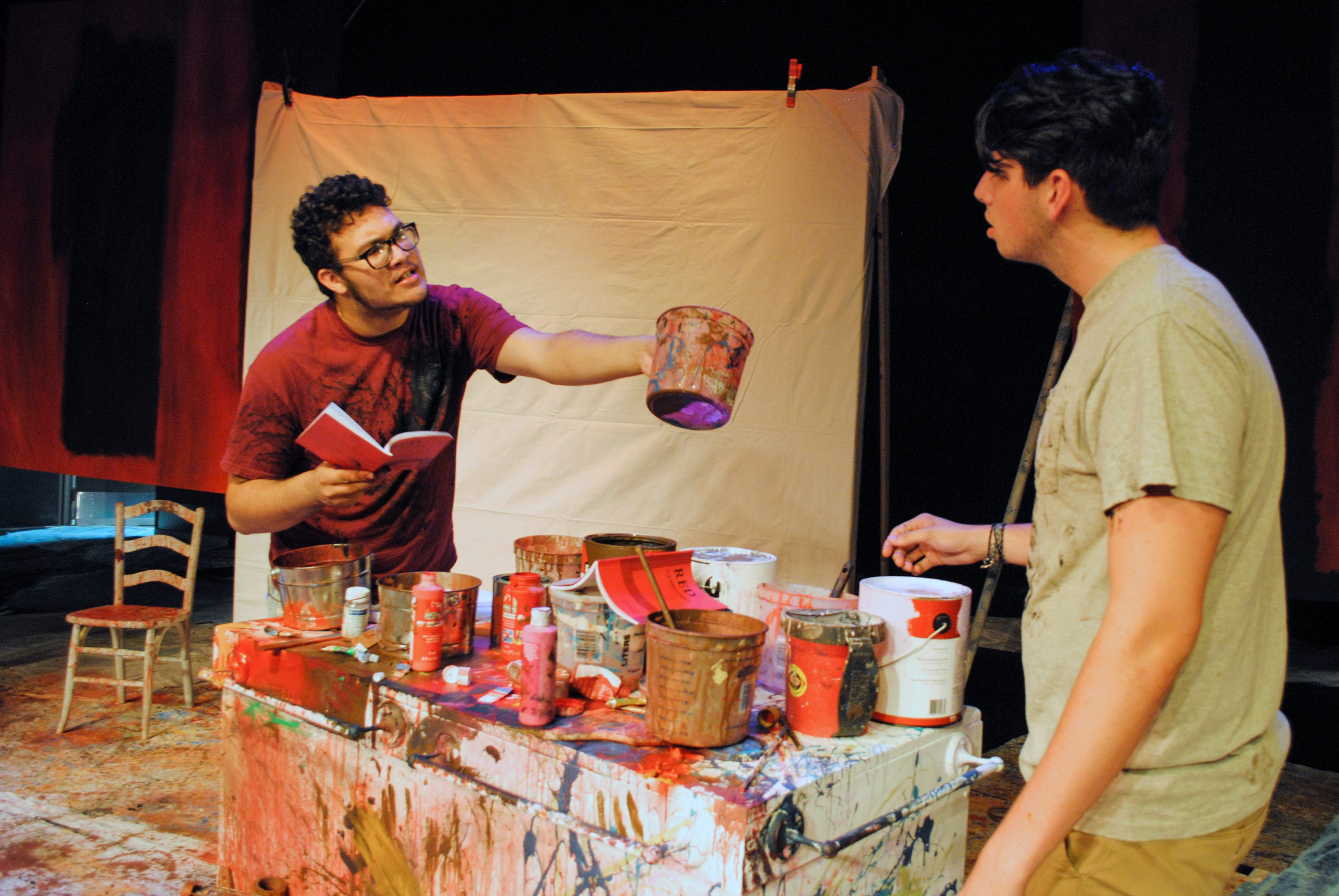 636644792234735870-RED-1 On stage at Eastern Florida State College in Cocoa? 'Red,' a Tony Award-winning play