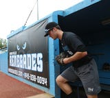 The Hudson Valley Renegades on Wednesday introduced a new roster and young manager as the franchise sets to begin the defense of its NY-Penn League baseball title.